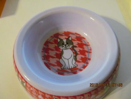 ADORABLE CAT BOWL