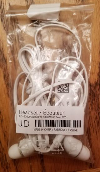 Earbuds. Brand new in package. Never used