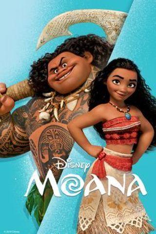 """Moana""Disney HDX - Vudu/movieanywhere Digital Movie Code"