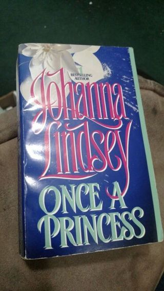 Once A Princess by Johanna Lindsey (paperback)