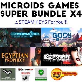 Steam Keys 4x Microids Super Bundle take now hurry up Not random games