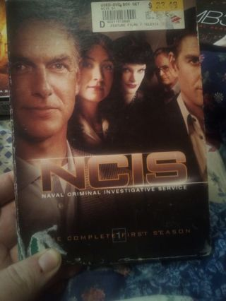 NCIS COMPLETE FIRST SEASON BRAND NEW
