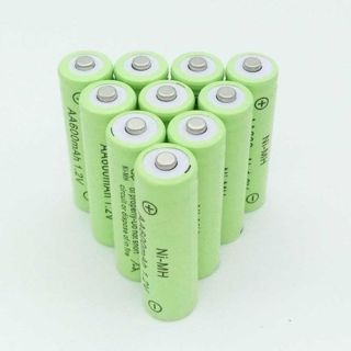 [GIN FOR FREE SHIPPING] 4PCS Ni-Cd 1.2V AA Rechargeable Battery Batteries Cell