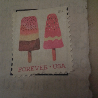Used USA Stamp  Frozen Fruit