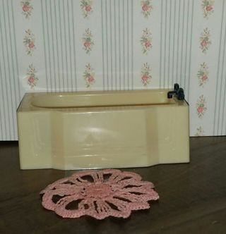 Vintage Doily Dollhouse Rug Crafts Pink