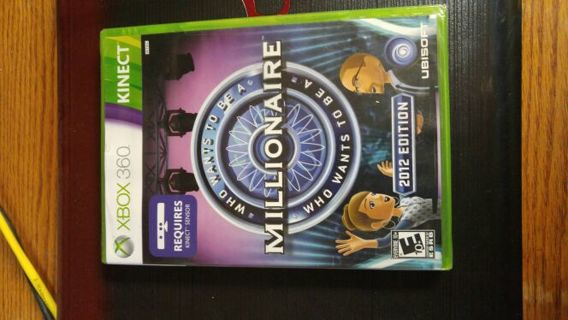 Who Wants To Be A Millionaire Xbox 360 Brand New Never Opened