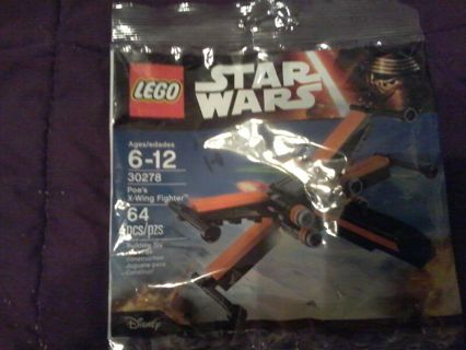 Lego star wars the force awakens Poe's x-wing polybag