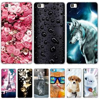 Case For Coque Huawei P8 Lite Case Cover Silicone For Capas Huawei P8 Lite 2016 ALE-L21 Case Funda