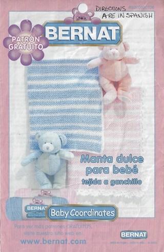 * Baby Blanket Pattern (in Spanish) Crochet?