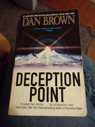 Deception Point by Dan Brown (paperback)