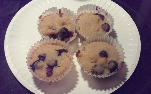 Gluten And Egg Free Blueberry Muffins
