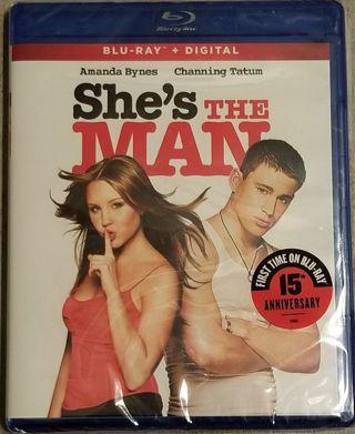She's The Man (2006) Ultraviolet Digital HD Code NEW! NEVER USED! Amanda Bynes Channing Tatum