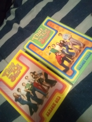 That 70's Show S1 or S3 on DVD (winner chooses one dvd set or GIN for both seasons)