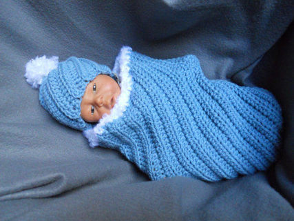 Free: PDF Easy Crochet BABY SACK and Hat Crochet Pattern, Cuddle ...