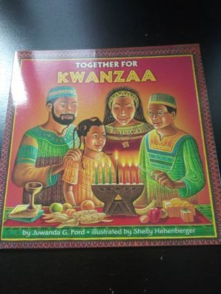 Together For Kwanzaa NEW BOOK