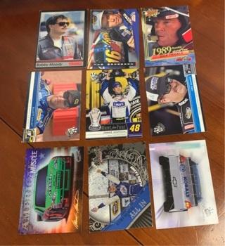 Nascar Racing card lot