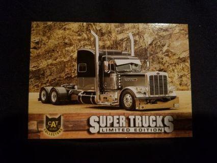SUPER TRUCKS LIMITED EDITION CARD