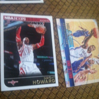 Dwight Howard an kevin Durant