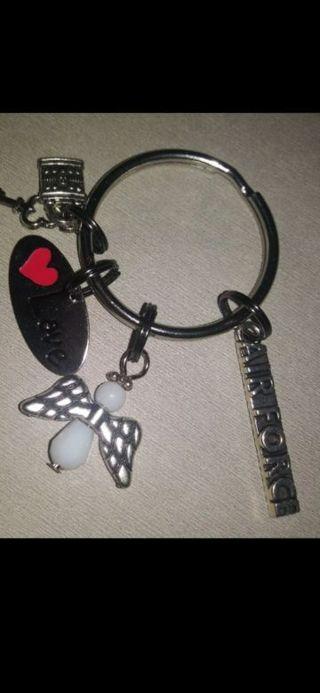 Air Force Keychain Brand New Handmade