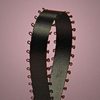 New Black Picot Ribbon