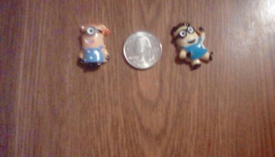 Two tiny minions