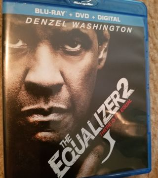 THE EQUALIZER 2 Blue Ray