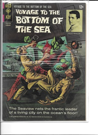 Voyage To The Bottom of The Sea #5 Gold Key Comics