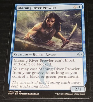 MTG ⭐️ Marang River Prowler - (U) 040/185 Fate Reforged  (FRF) ⭐️ Magic the Gathering (2015)