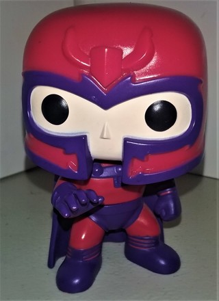 """2014 Marvel Funko Pop X-Men MAGNETO bobblehead - 4"""" tall - loose (out of box)"""