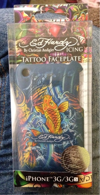 Ed Hardy iPhone 3G/3GS Faceplate