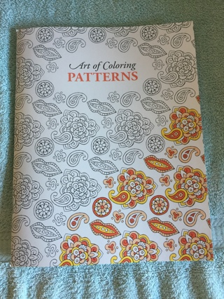 THE ART OF COLORING PATTERNS COLORING BOOK~BRAND NEW