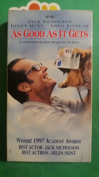 VHS movie  as good as it gets  free shipping