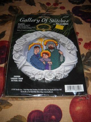 Bucilla Nativity Cross Stitch Kit/New/Free Shipping
