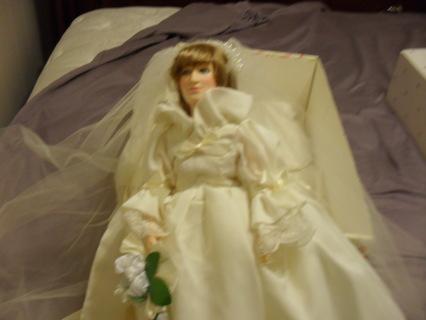 Free: Limited Edition Doll Club Princess Diana Bride Doll by ...
