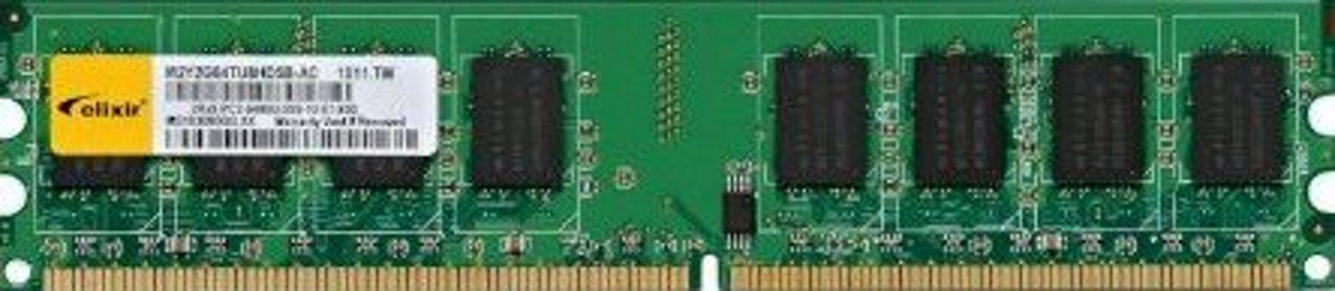 Free: Elixir 2GB PC2-6400 DDR2-800MHz non-ECC Unbuffered CL5