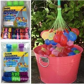 Free Shipping!! 74 Auto Tie Water Balloons!! New!!