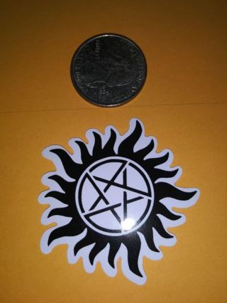 Supernatural cool vinyl lab top sticker lowest gins! No refunds! No lower! Good deal!