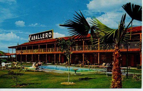 Cabballero Motor Hotel & Restaurant - unused postcard 1962