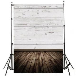 NEW 3D 7ft Retro Floor Plank Photography Background Studio Photo Backdrop
