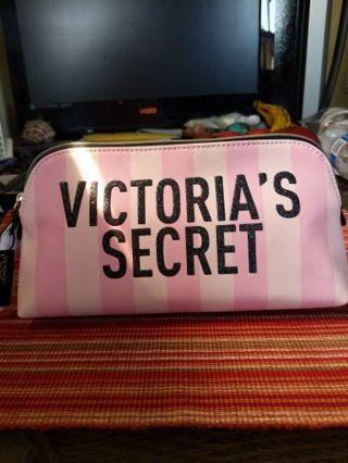 Signature Victoria's Secret makeup bag