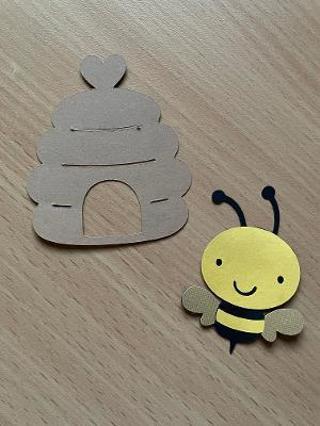 Bee Die Cut