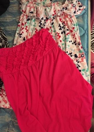 2 swim suit cover up dresses L/XL