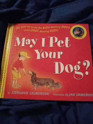 New Book My I Pet Your Dog?