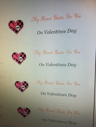 Valentines Labels #2