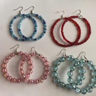 Brand New 4 Pair of Big Hoop Earrings !