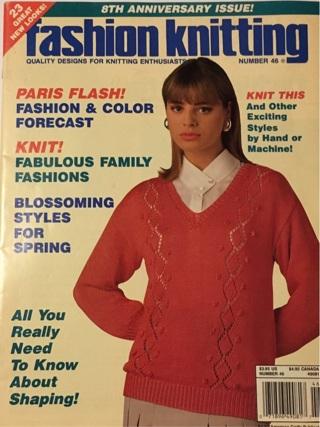Fashion Knitting # 46 - 23 GREAT New Looks