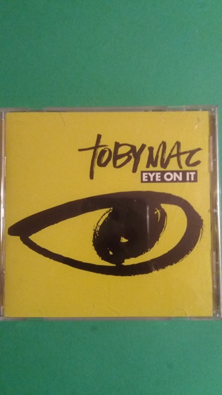 cd  tobymac  eye on it  free shipping