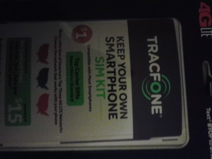 smc card for a tracfone cell phone.