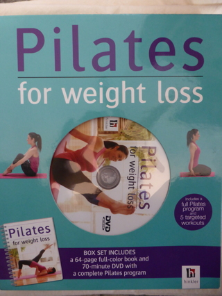 Pilates for Weight Loss Book and DVD  Box Set by Elise Watts - New in Box