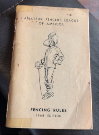 Fencing Rules 1968 Edition